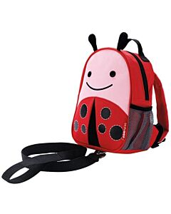 Skip Hop Zoo: Let Safety Harness Mini Backpack with Rein - Ladybug - 20% OFF!