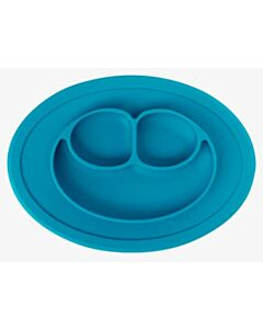 EZPZ Mini Mat | Self-Suctioning Silicone Plate + Placemat (6+ Months) | Blue - 32% OFF!!