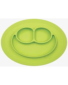 EZPZ Mini Mat | Self-Suctioning Silicone Plate + Placemat (6+ Months) | Lime - 32% OFF!!