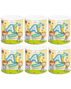 MIWAKO A+ Plant-based Formula Milk 700g x 6 TINS (1-6 years old) (Special combo deal)