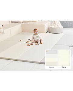 ALZiP® Mat Baby Foldable Silion Playmat   Size S (200*120*4cm) - Modern Grey