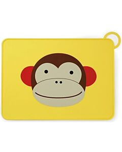 Skip Hop: Zoo Fold & Go Silicone Kids Placemat - Monkey - 15% OFF!!