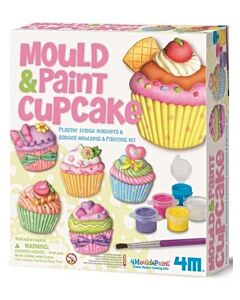 4M Mould & Paint Crafts | Cupcake - 15% OFF!!