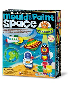 4M Mould & Paint Crafts | Glow Space - 15% OFF!!