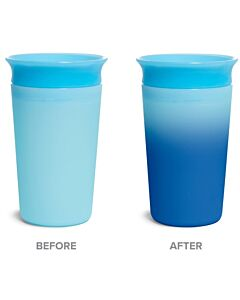 Munchkin: Miracle® 360° Color Changing Cup 9oz Blue (1 piece) - 20% OFF!!