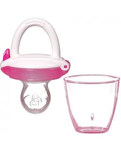 Munchkin Baby Silicone Food Feeder- Pink - 15% OFF!!