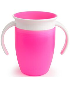 Munchkin: Miracle 360° Trainer Cup 7oz (Pink) - 20% OFF!!
