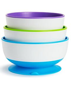 Munchkin: Stay Put Suction Bowls (3 bowls) - 32% OFF!!