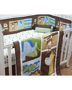 Happy Cot: Bedding Set - Jungle Animals - 10% OFF!!