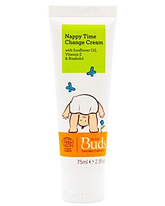 Buds Everyday Organics: Nappy Time Change Cream 75ml - 15% OFF