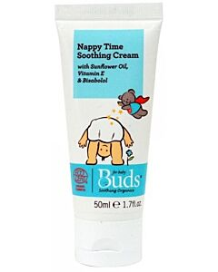 Buds Soothing Organics: Nappy Time Soothing Cream 50ml - 15% OFF!