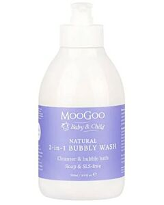 MooGoo: Natural 2-in-1 Bubbly Wash 500ml - 15% OFF!