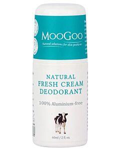 MooGoo: Natural Fresh Cream Deodorant 60ml - 21% OFF!