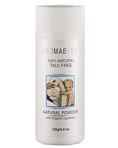 Aromababy: Natural Powder with Organic Lavender 125g