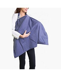 Lilie Pilie: Nursing Covers (Navy Polka) - 43% OFF!!