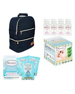 Autumnz: Neatpack Cooler Bag Package (FREE! Breastmilk Storage Bottle 4oz + Reusable Ice Pack 3packs) - 25% OFF!!
