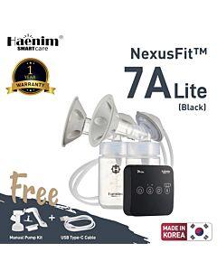 Haenim NexusFit™ 7A-LITE Ultraportable Electric Breast Pump - Black