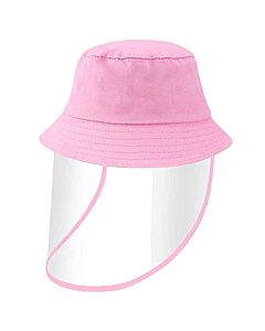 Face Shield / Kids Protective Hat - Pink