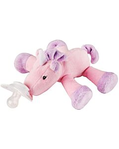 Nookums Paci-Plushies Unity Unicorn Shakies™ Pacifier Holder (Plush Toy Includes Detachable Pacifier, Use with Multiple Brand Name Pacifiers) - 18% OFF!!
