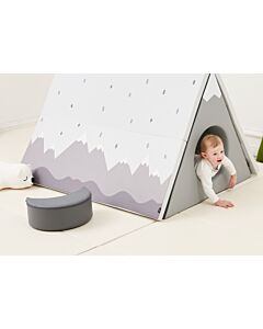 ALZiP® Mat 3-in-1 Play Mat House Tent   140*100*87cm   Nordic Tree