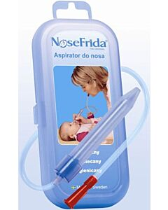 NoseFrida The Snotsucker Nasal Aspirator + FREE 20 pieces of additional Hygiene Filters (Bundle Set)