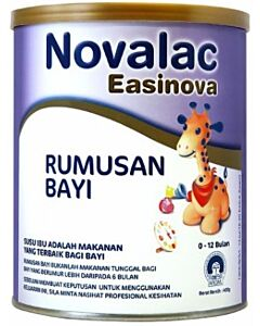 Novalac: Easinova Infant Formula 800g (FORMERLY IT Special Infant Formula) (0 - 12 months formula) - 15% OFF!