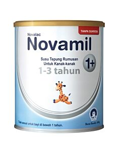 Novamil 1+ Growing up milk 800g - FORMERLY Novalac Grow Growing-Up Formula (1 - 3 years formula) - 17% OFF!!