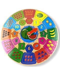 Funny Kid's: Number Clock - 10% OFF!!
