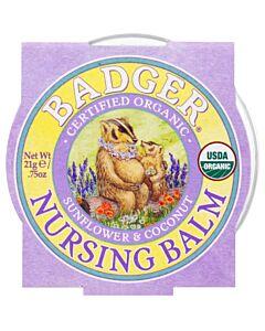 Badger: Organic Nursing Balm (Sunflower & Coconut) 0.75oz - 10% OFF!