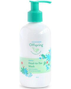 Offspring Gentle Head To Toe Wash 250ml