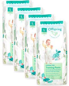 Offspring Fashion Pants (Chlorine Free) L36 - Animalaysia *4 Pack Bundle*