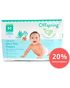 Offspring Featherlite Ultra-Thin Tape Diapers M38 (5-9kg)