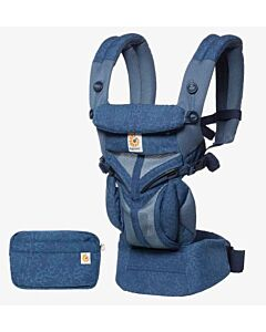 Ergobaby: Omni 360 Carrier All-in-One Cool Air Mesh - Blue Blooms
