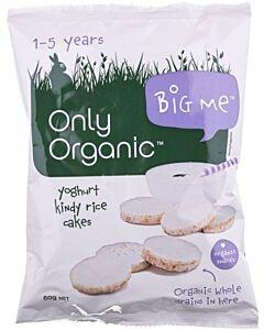 Only Organic Junior Mini Yogurt Rice Cakes 60g