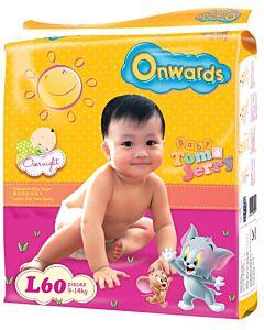 Onwards baby diapers (Mega pack) -L60 (for babies 9-14kg)