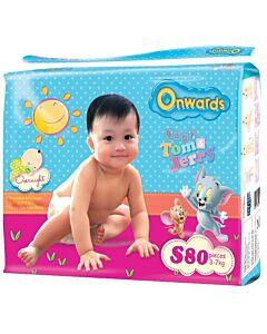 Onwards baby diapers (Mega pack) - S80 (for babies 3-7kg)