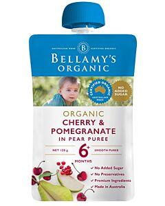 Bellamy's: Organic Cherry & Pomegranate 120g (Ready to serve)
