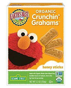 Earth's Best: Organic Crunchin' Grahams - Honey Sticks - 17% OFF!!