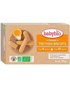 Babybio Organic Teething Biscuits (from 10 months) 120g