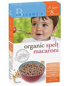 Bellamy's Organic Spelt Macaroni (Baby Macaroni)
