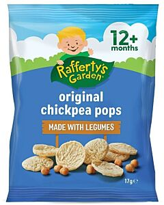 Rafferty's Garden: Original Chickpea Pops 17g (12+ Months) - 18% OFF!!