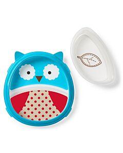 Skip Hop: Zoo Smart Serve Plate & Bowl - Owl - 20% OFF!!