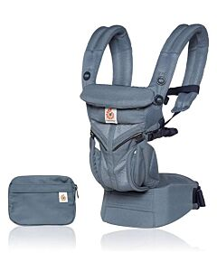 Ergobaby: Omni 360 Carrier All-in-One Cool Air Mesh - Oxford Blue