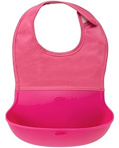 OXO TOT: Roll Up Bib - Pink - 20% OFF!!