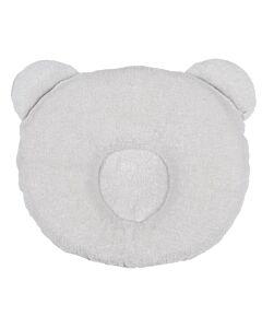 Candide P'tit Panda Pillow 21cm x 19cm (0-6 Months) - Grey - 15% OFF!!