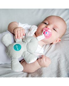 Bubble Pacifier Holder - Bella the Bunny - 20% OFF!!