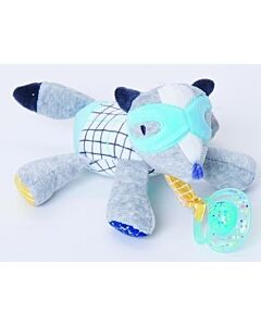 Bubble Pacifier Holder - Flash the Fox - 20% OFF!!