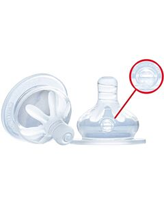 Pacific Baby: Wide Neck Bottle Teats (Twin pack) - Slow Flow - 10% OFF!!