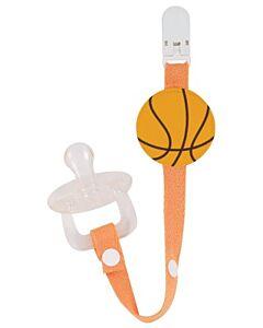 Naforye Pacifier Clip - Basketball