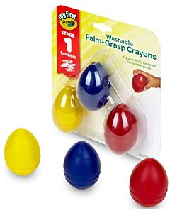 Crayola My First Palm-Grip Crayons (3 pieces) - 15% OFF!!